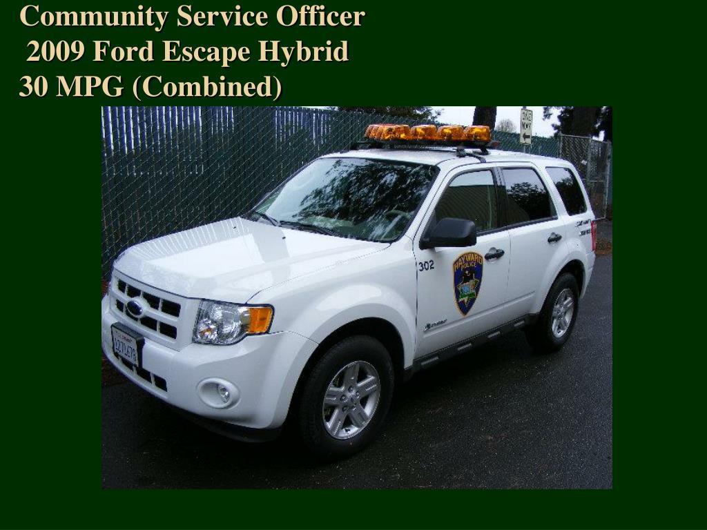Community Service Officer