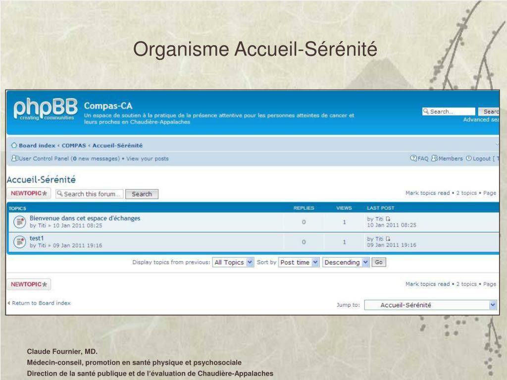 Organisme Accueil-Sérénité