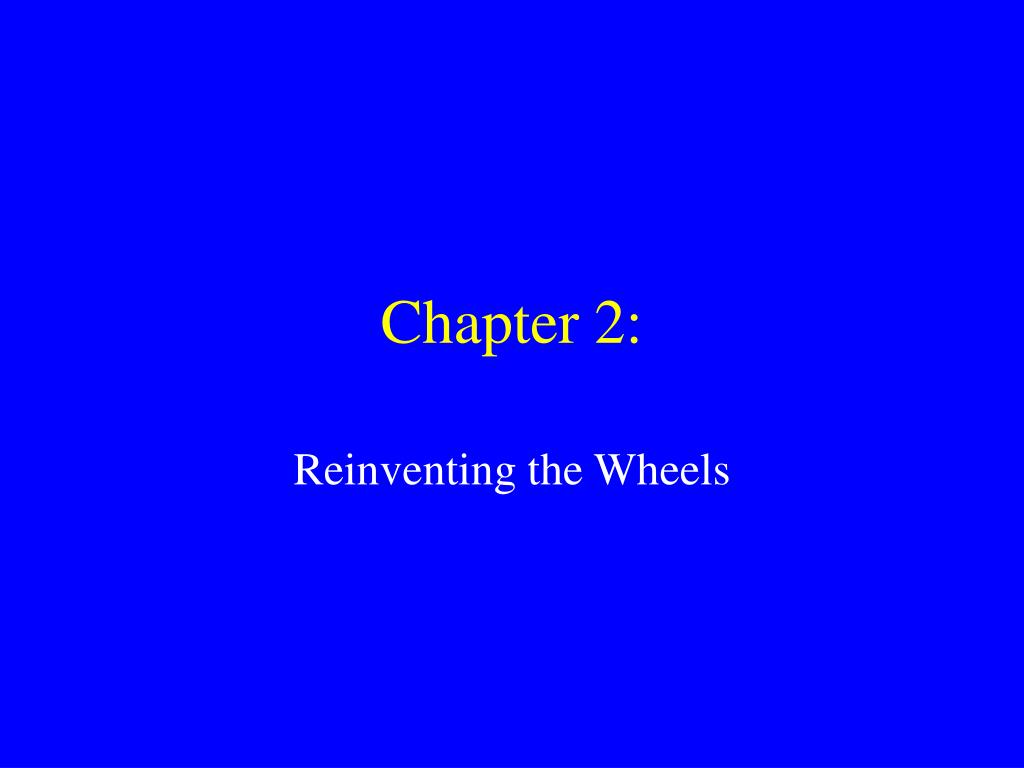 Chapter 2: