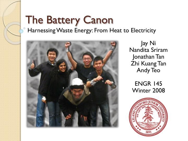 the battery canon n.