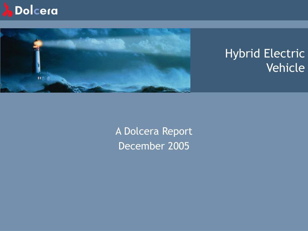 hybrid electric vehicle l.