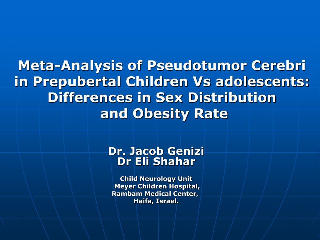 Meta-Analysis of Pseudotumor Cerebri