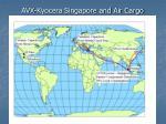 avx kyocera singapore and air cargo