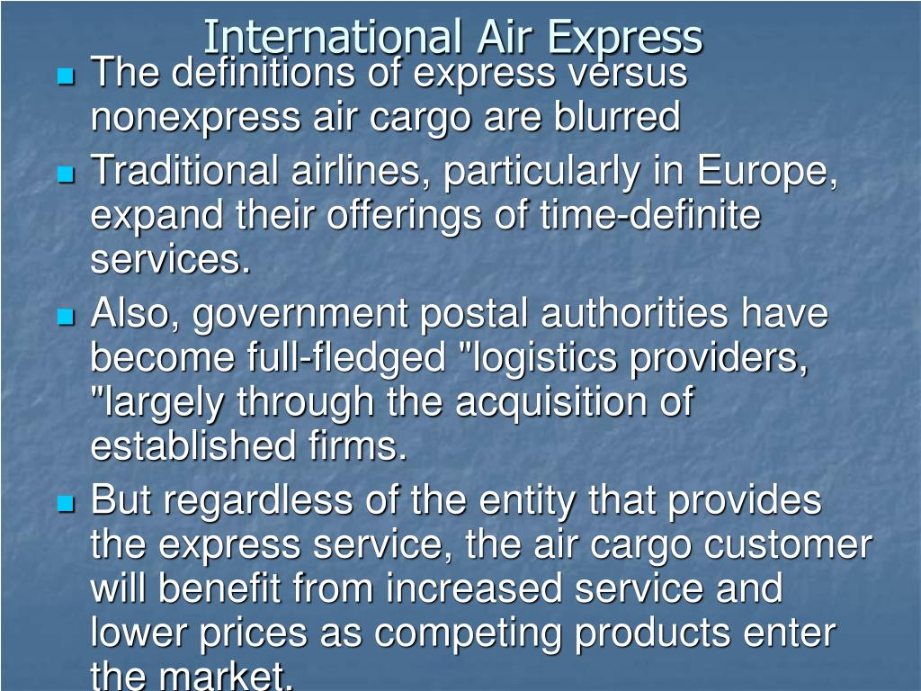 International Air Express