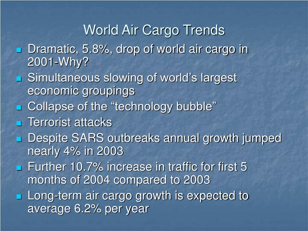 World Air Cargo Trends
