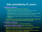 gas controlled by fl cont