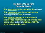 modeling using flc mamdani type33
