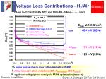 voltage loss contributions h 2 air