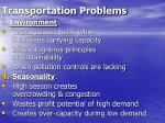 transportation problems7