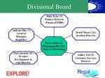 divisional board