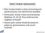 take home messages54