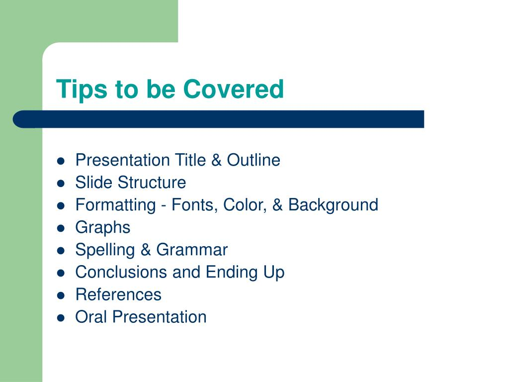 Presentation Title & Outline