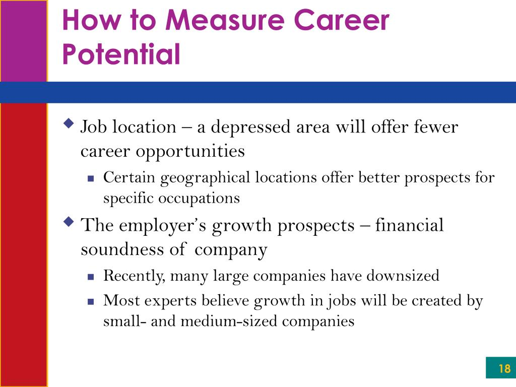 How to Measure Career Potential