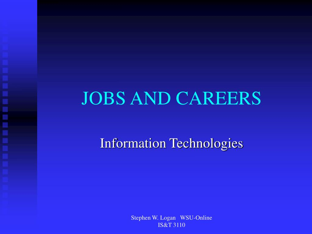 jobs and careers l.