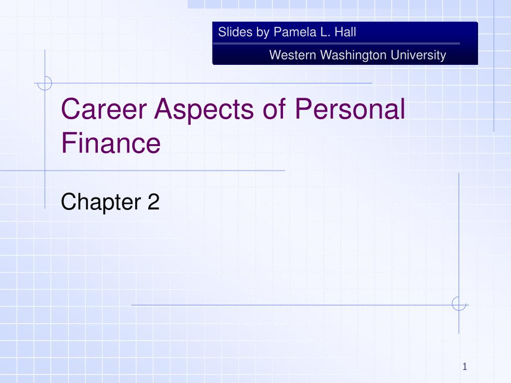 career aspects of personal finance l.