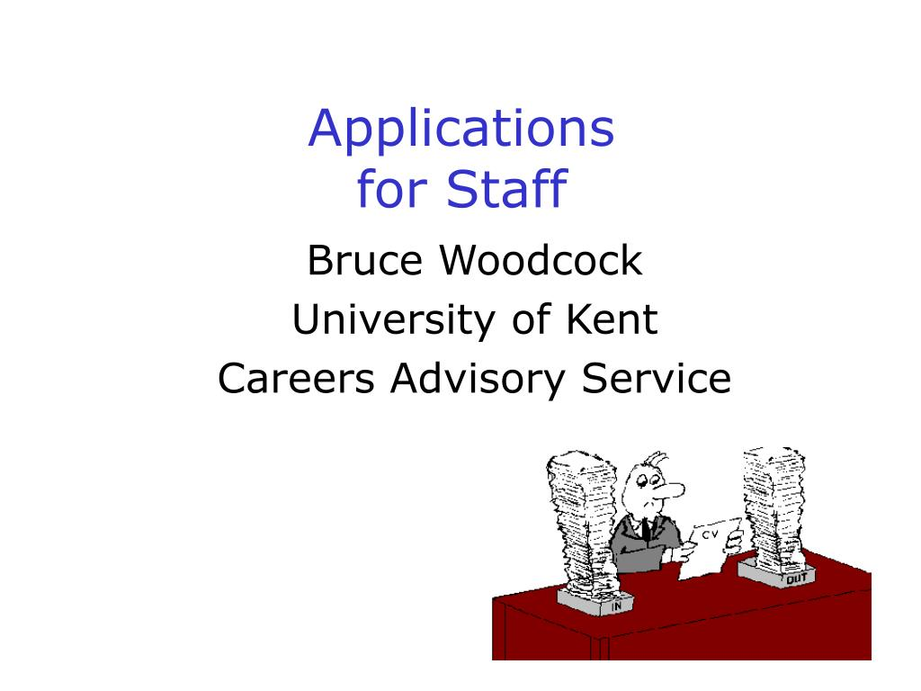 applications for staff l.