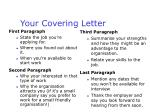 your covering letter11