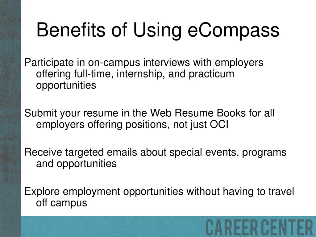 Benefits of Using eCompass