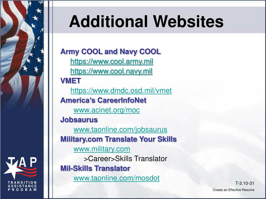 Additional Websites