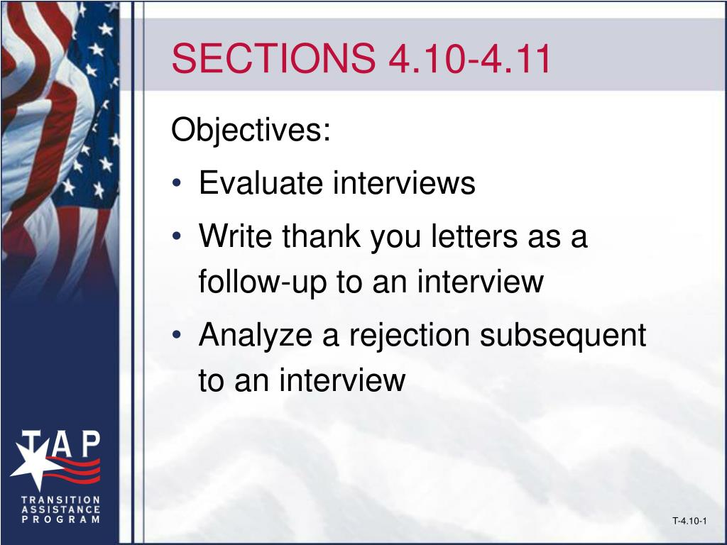 SECTIONS 4.10-4.11