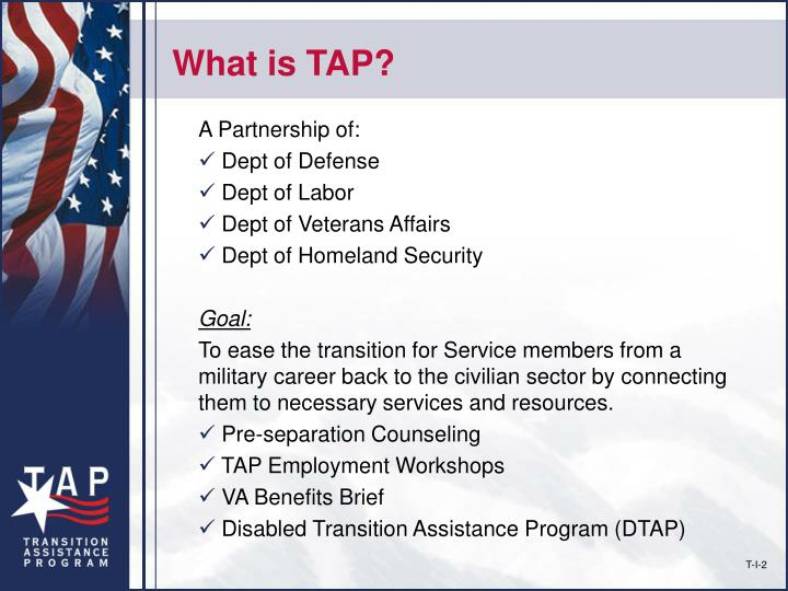 What is tap