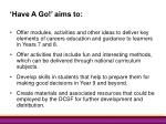 have a go aims to