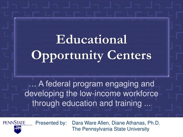 educational opportunity centers n.