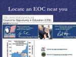 locate an eoc near you