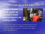 americorps alachua reads