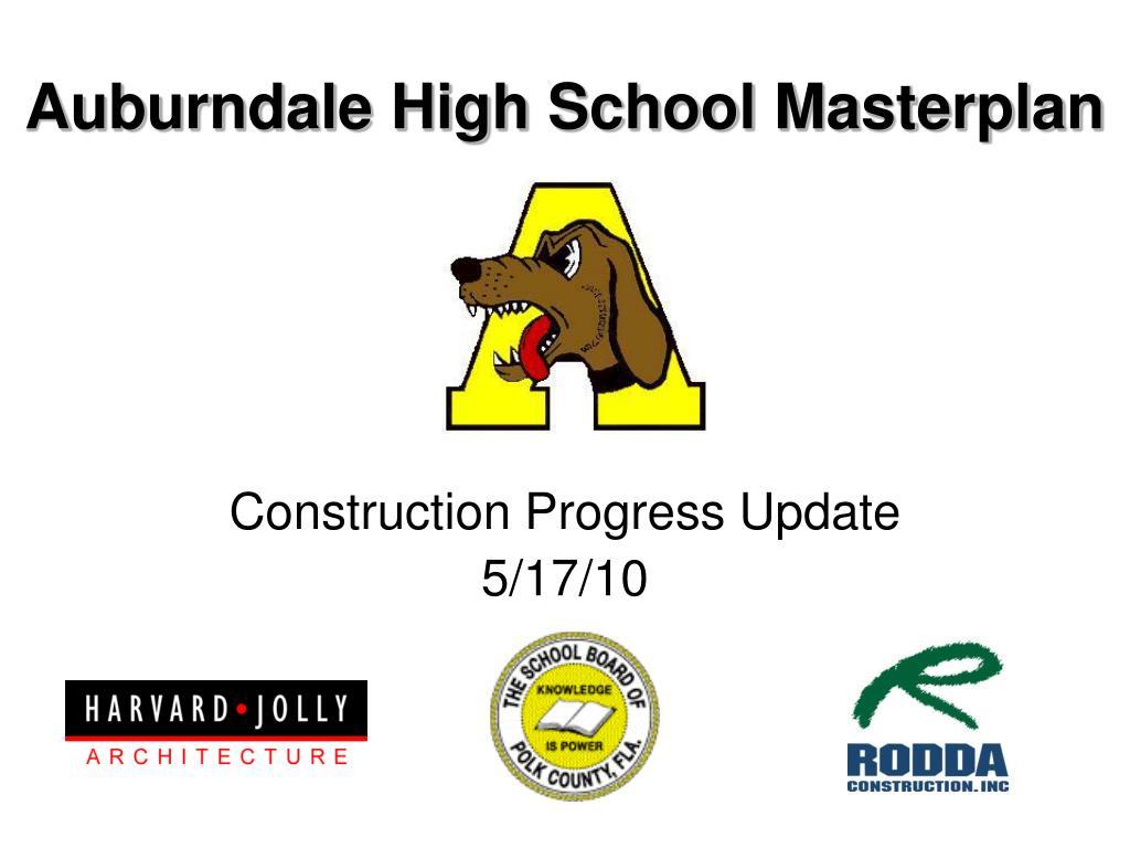 auburndale high school masterplan l.