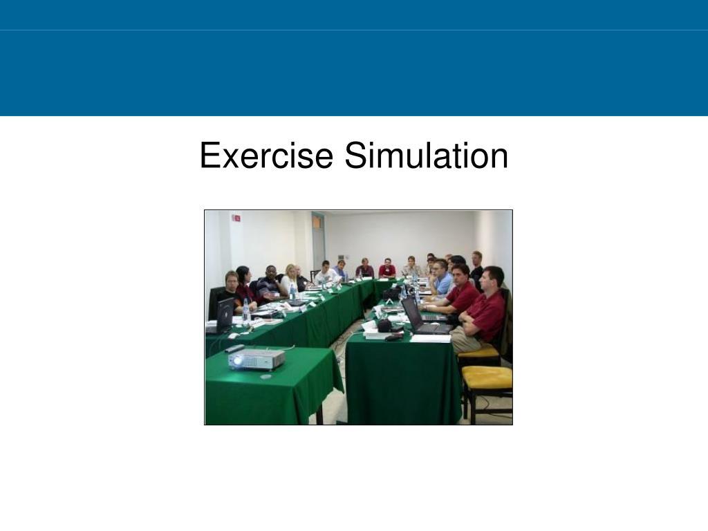 Exercise Simulation