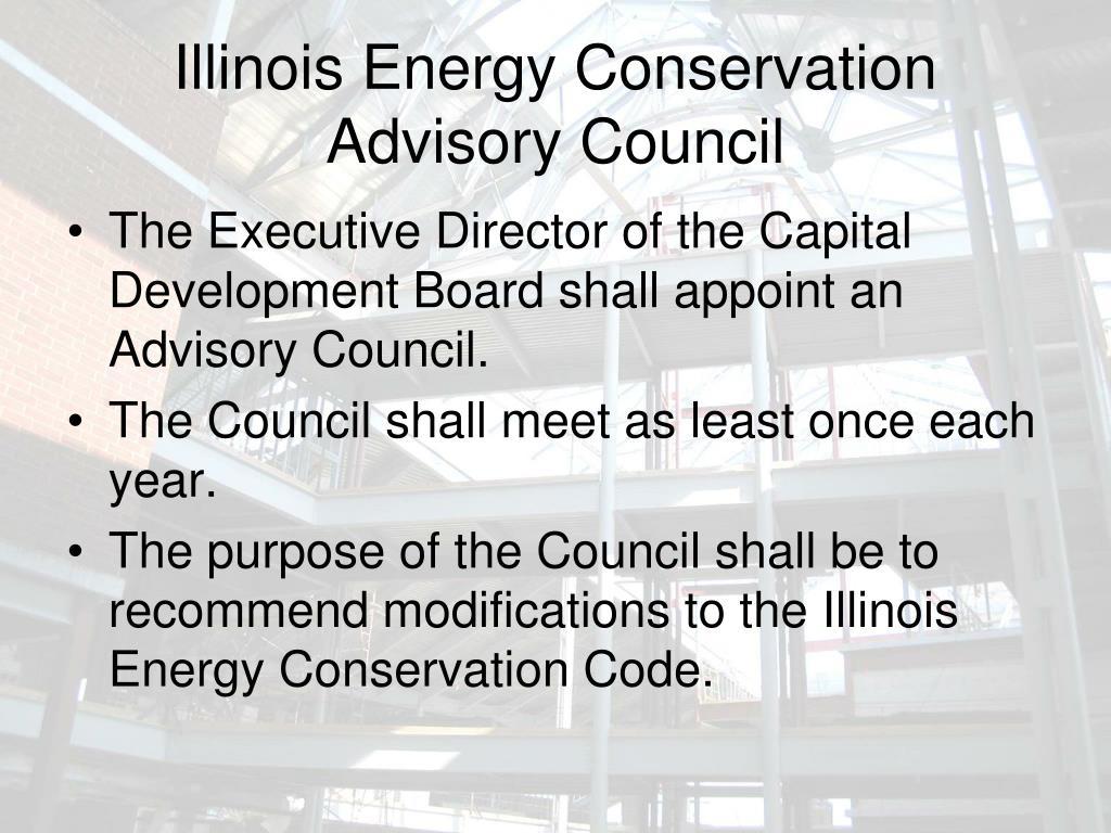 Illinois Energy Conservation Advisory Council