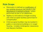rule scope