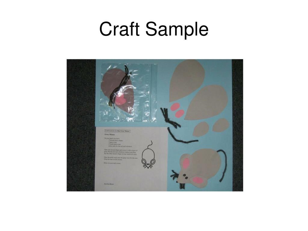 Craft Sample