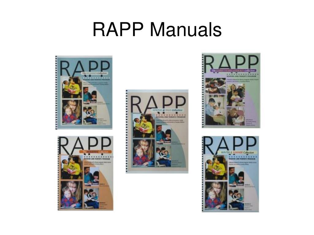 RAPP Manuals
