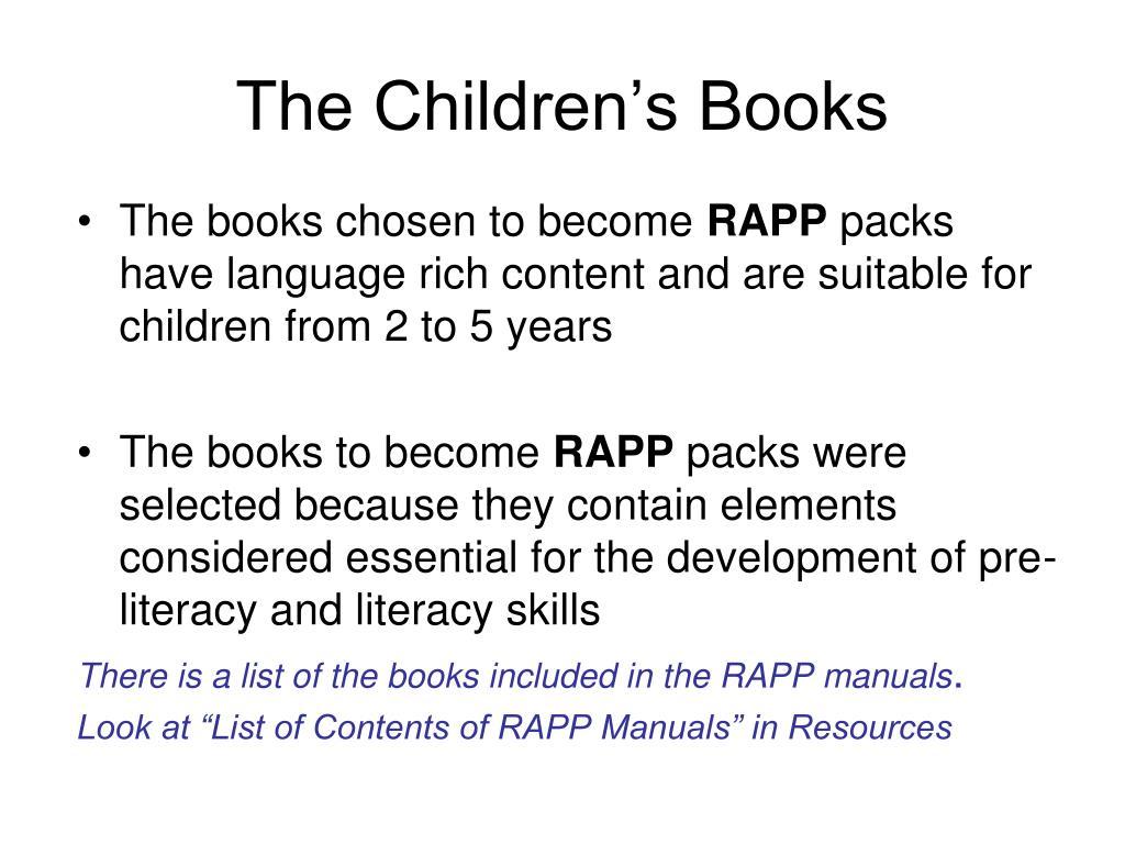 The Children's Books