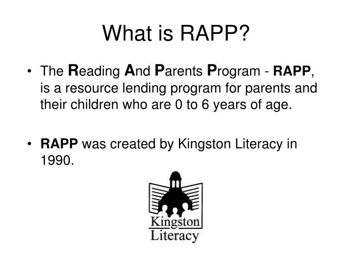 What is rapp