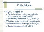 path edges