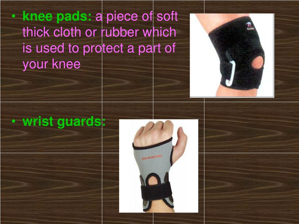 knee pads: