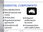 essential components6