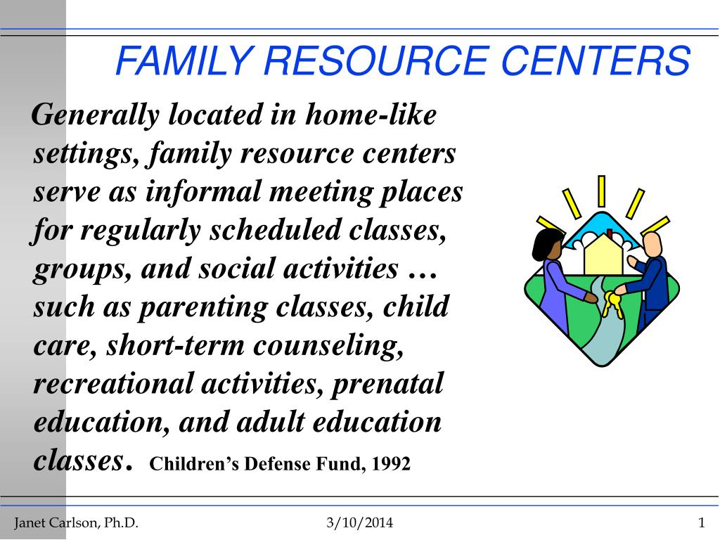 family resource centers l.