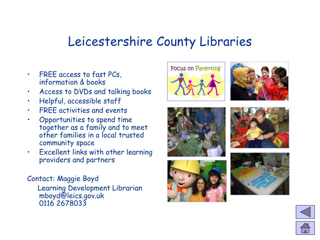 Leicestershire County Libraries
