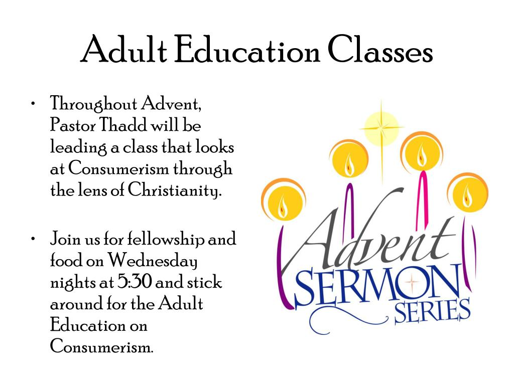 adult education classes l.