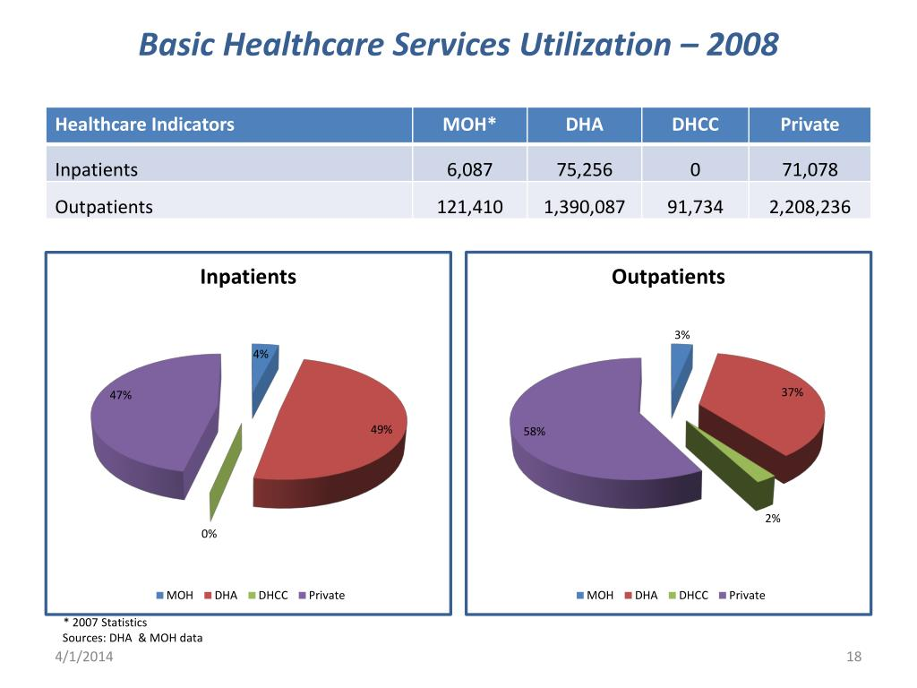Basic Healthcare Services Utilization – 2008