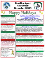 families apart newsletter december 2008