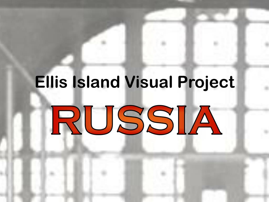 ellis island visual project l.