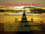 lillian kaiz razhon russia