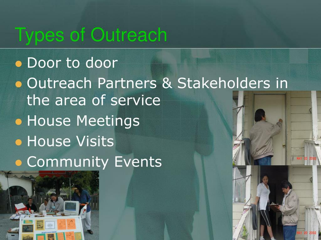 Types of Outreach