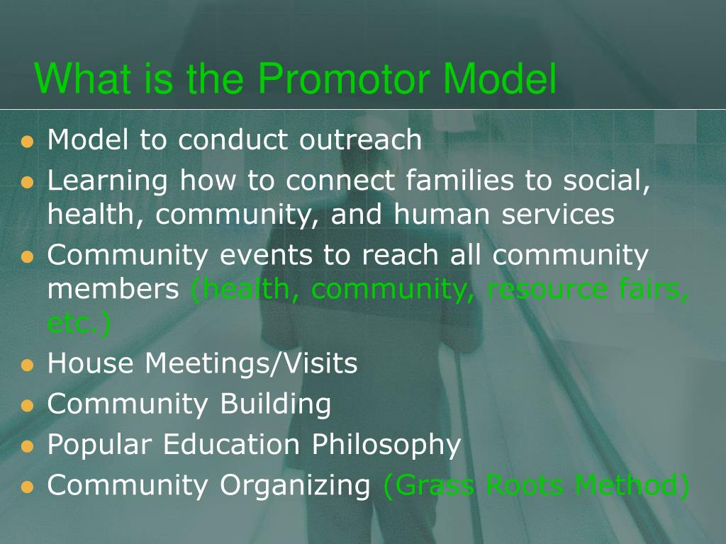 What is the Promotor Model