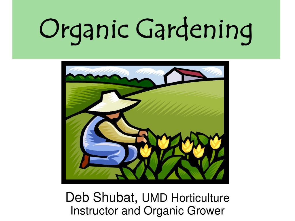 organic gardening l.